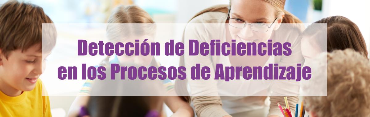 Detección de deficiencias en los procesos de aprendizaje en los alumnos.