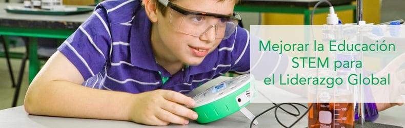 Mejorar la Educación STEM para el Liderazgo Global