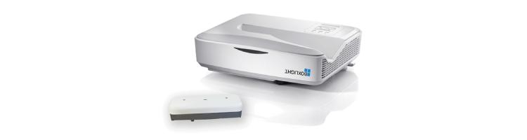 Boxlight lanza su extensa línea de proyectores estándar, láser-interactivos y de bulbos.