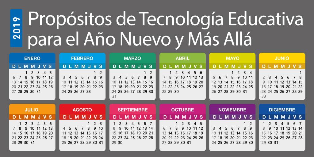 Propósitos de Tecnología Educativa para el Año Nuevo y Más Allá